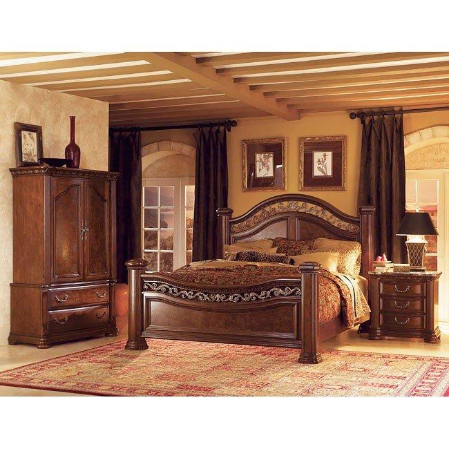 Granada Poster Bedroom Set