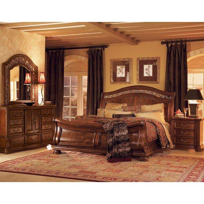 Granada Sleigh Bedroom Set
