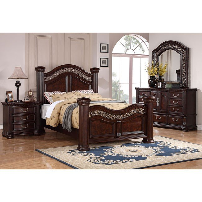 Alicante Mansion Bedroom Set
