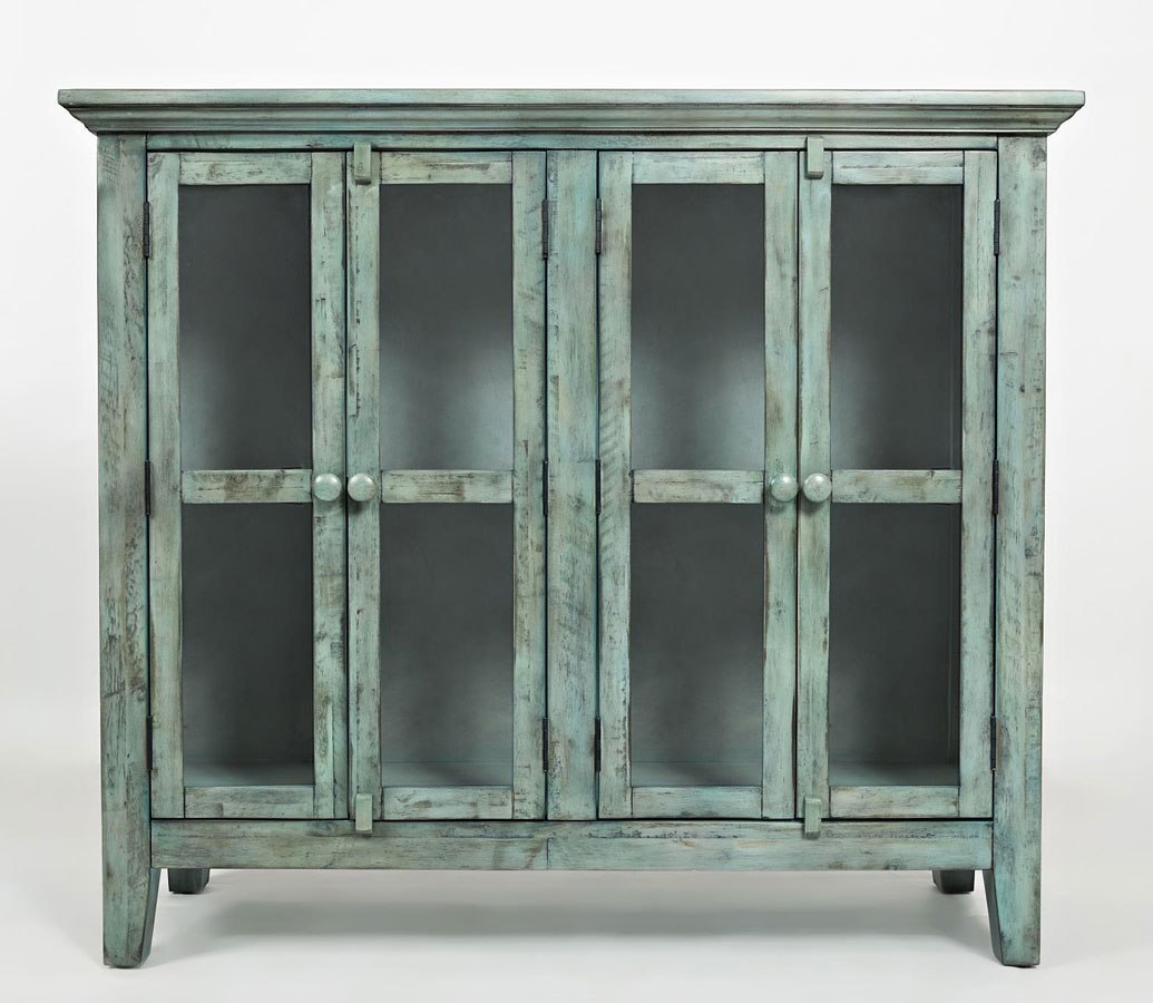Rustic Shores 48 Inch Accent Cabinet (Surfside)