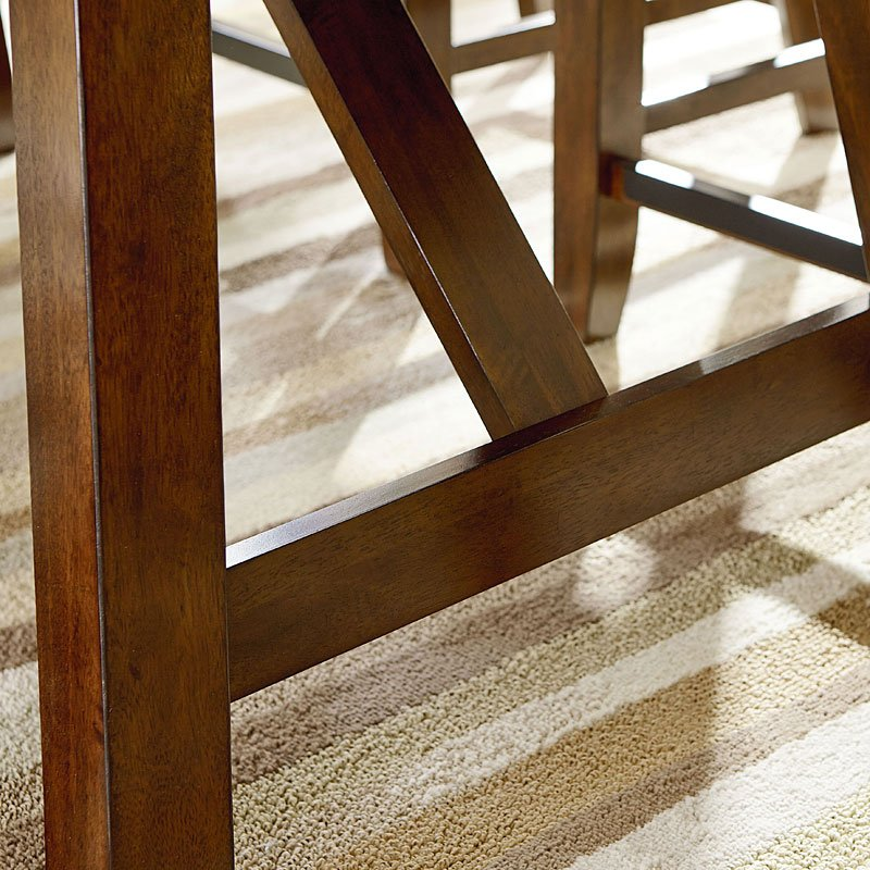 Ashley Furniture Omaha Ne: Omaha Counter Height Dining Table (Brown) Standard