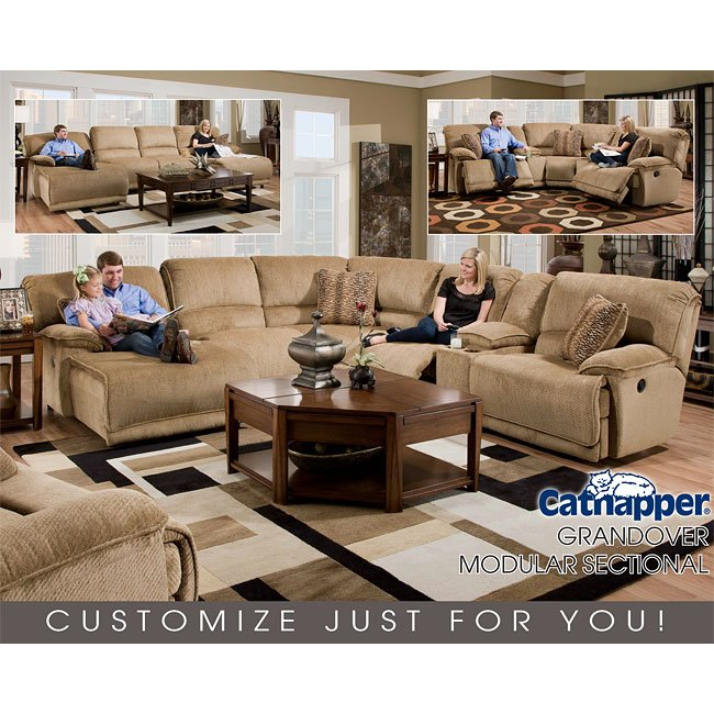 Grandover Modular Reclining Sectional Catner 1 Reviews Furniture Cart