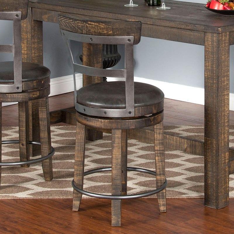 Metroflex 24 Inch Barstool Leaf Set Of 2 Sunny Designs Furniture Cart