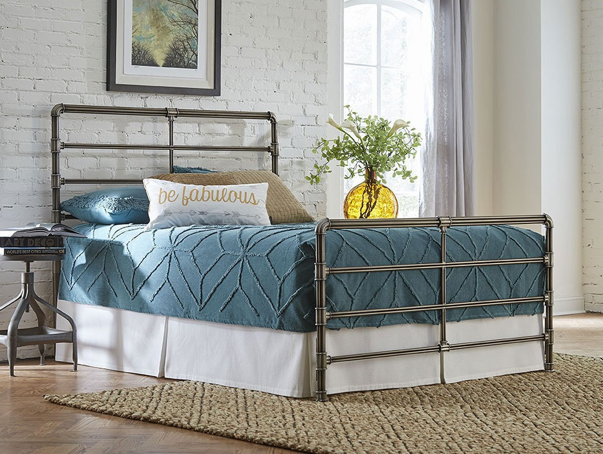 Mia Metal Bed Largo Furniture Furniture Cart