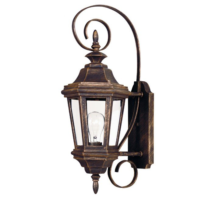 Estate Small Wall Lantern (Antique Patina)