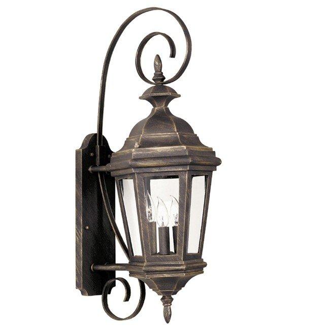 Estate Medium Wall Lantern (Antique Patina)