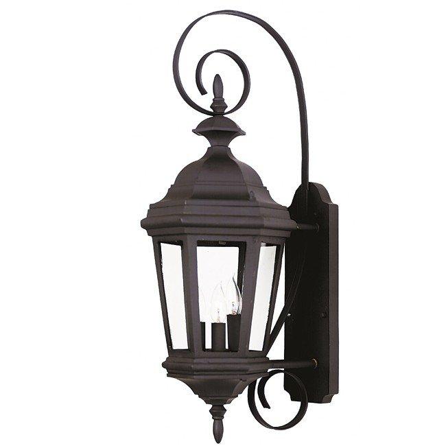 Estate Medium Wall Lantern (Black)