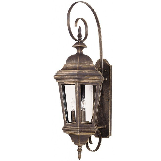 Estate Large Wall Lantern (Antique Patina)