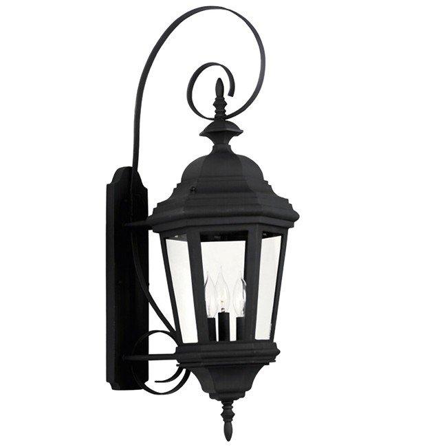 Estate Large Wall Lantern (Black)