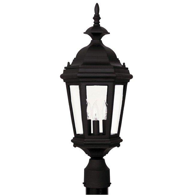 Estate Post Lantern (Black)