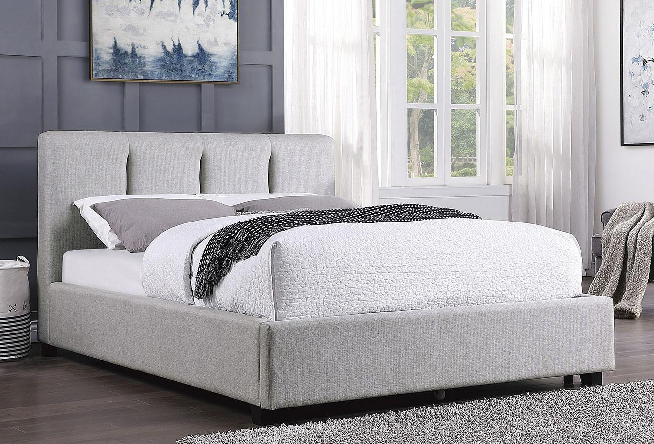 Aitana Platform Bed Homelegance Furniture Cart