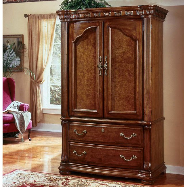 Cordoba Entertainment Armoire (Burnished Pine)