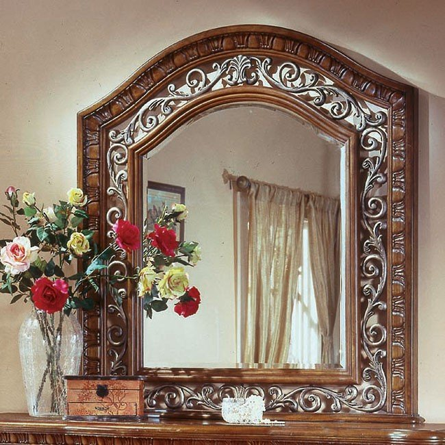 Cordoba Mirror (Burnished Pine)
