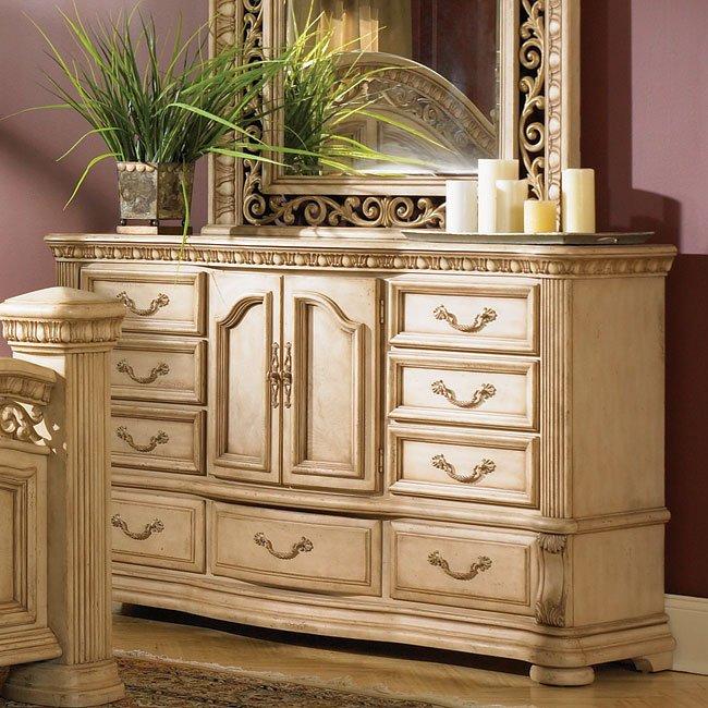 Cordoba Door Dresser (Antiguo Blanco)