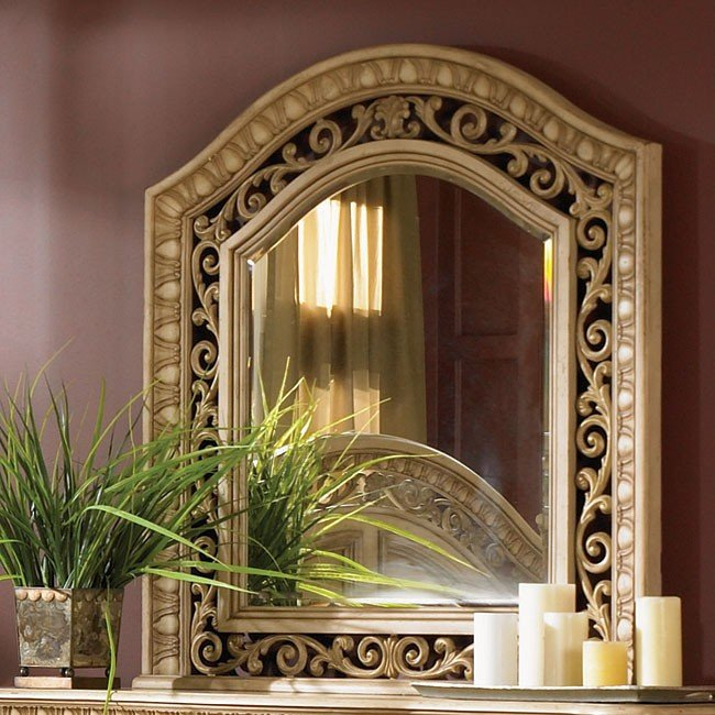 Cordoba Mirror (Antiguo Blanco)