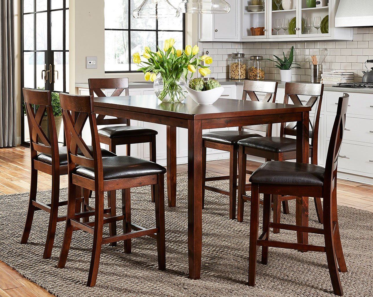Thornton 7 Piece Counter Height Dining Set