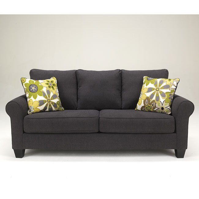Superbe Nolana Charcoal Sofa