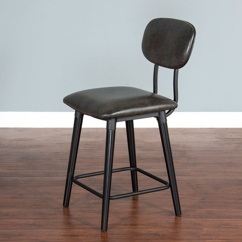Black 24 Inch Barstool Sunny Designs Furniture Cart