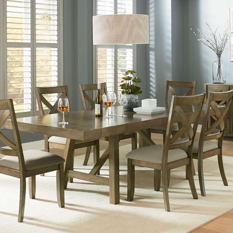 Omaha Dining Table Grey Standard Furniture Furniture Cart