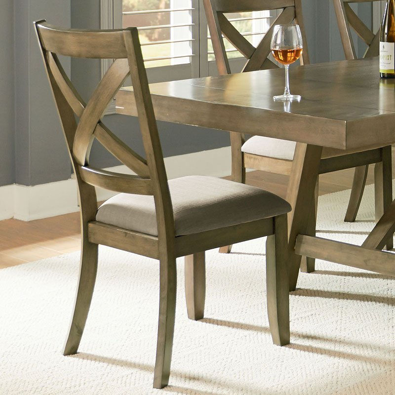 Kitchen Table Omaha: Omaha Dining Room Set (Grey) Standard Furniture