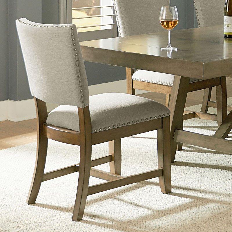 Ashley Furniture Omaha Ne: Omaha Dining Room Set W/ Upholstered Bench (Grey) Standard