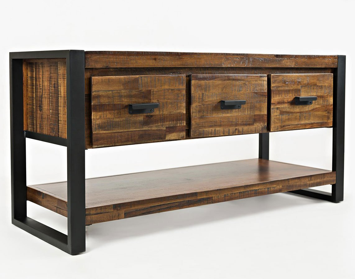 Loftworks 50 Inch Media Console Jofran Furniture Furniture Cart
