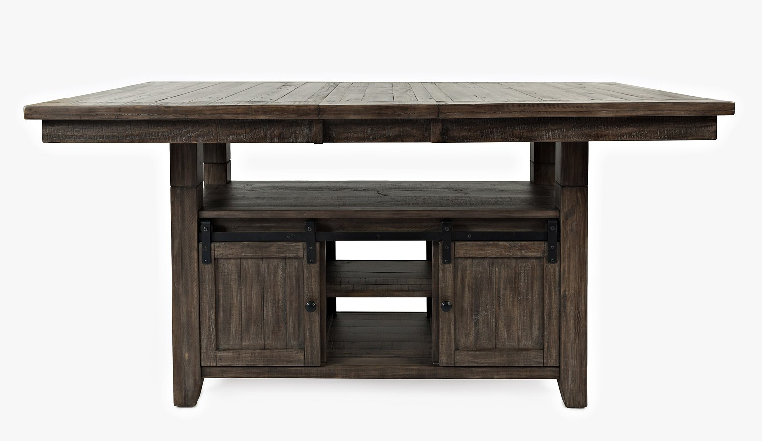 Madison County Adjustable Height Dining Table (Barnwood
