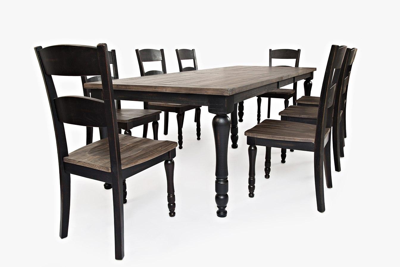 Madison County Rectangular Dining Room Set (Vintage Black