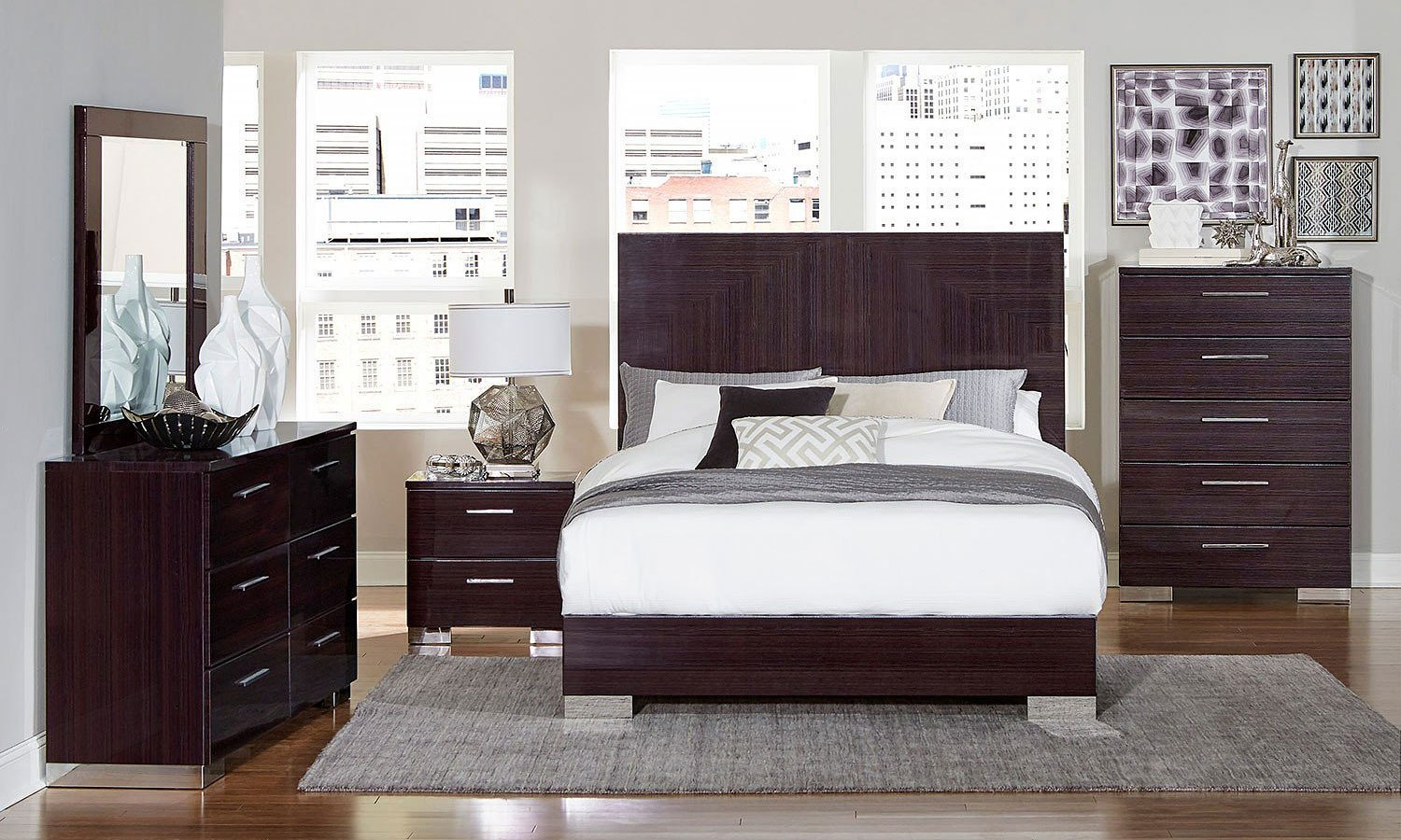 Moritz Low Profile Bedroom Set