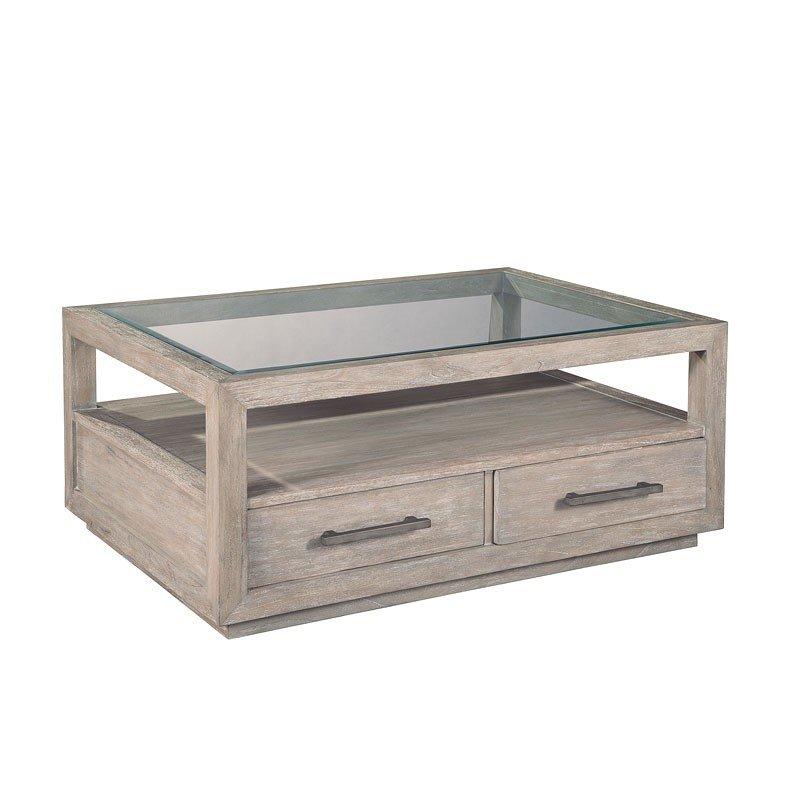 Berkeley Heights Glass Top Coffee Table Hekman Furniture Cart