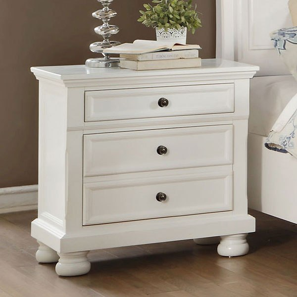 Laurelin Nightstand (White)