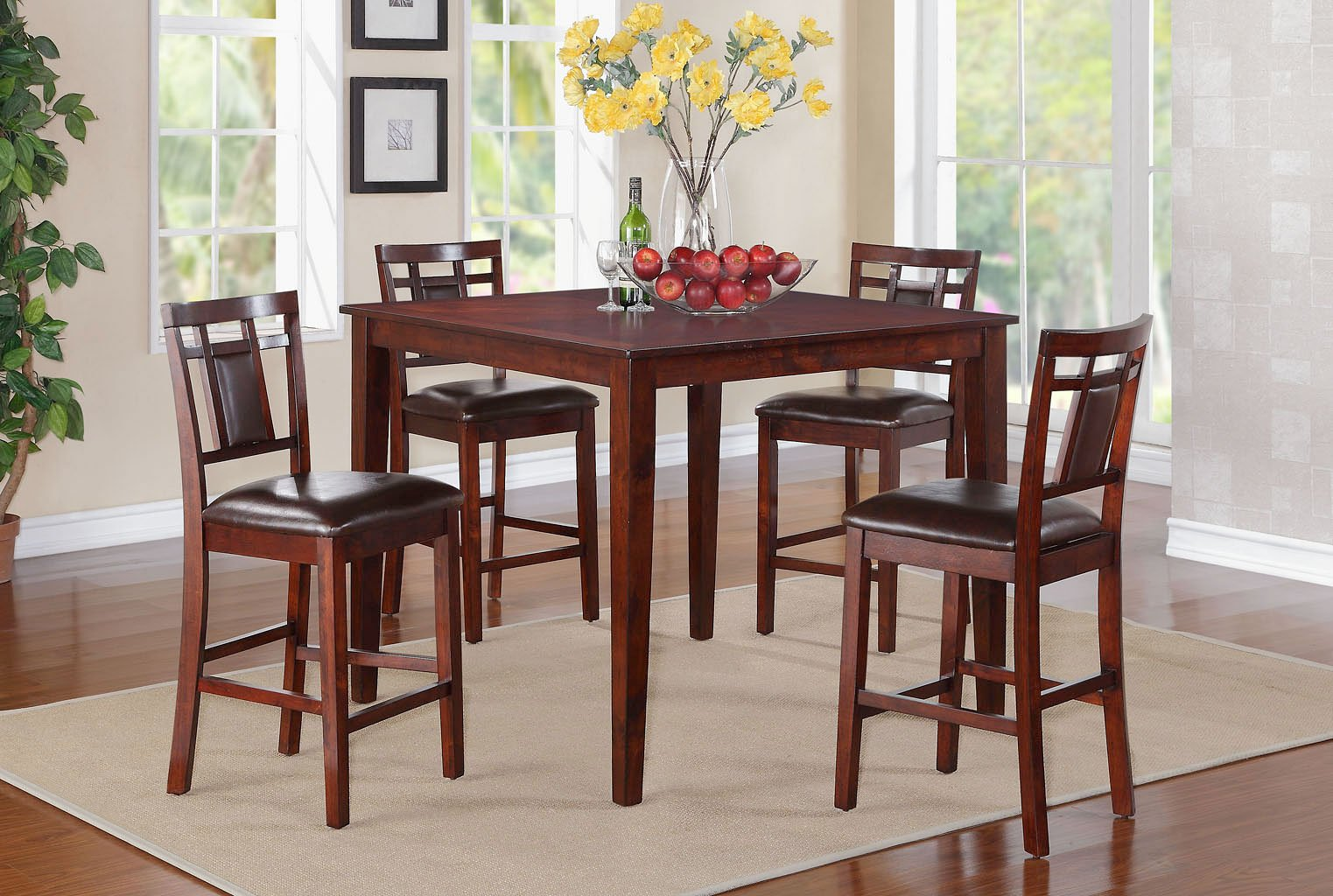 Westlake 5-Piece Counter Height Dining Room Set Standard Furniture