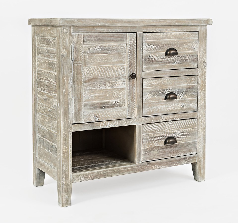 Artisans Craft Accent Chest (Washed Grey)