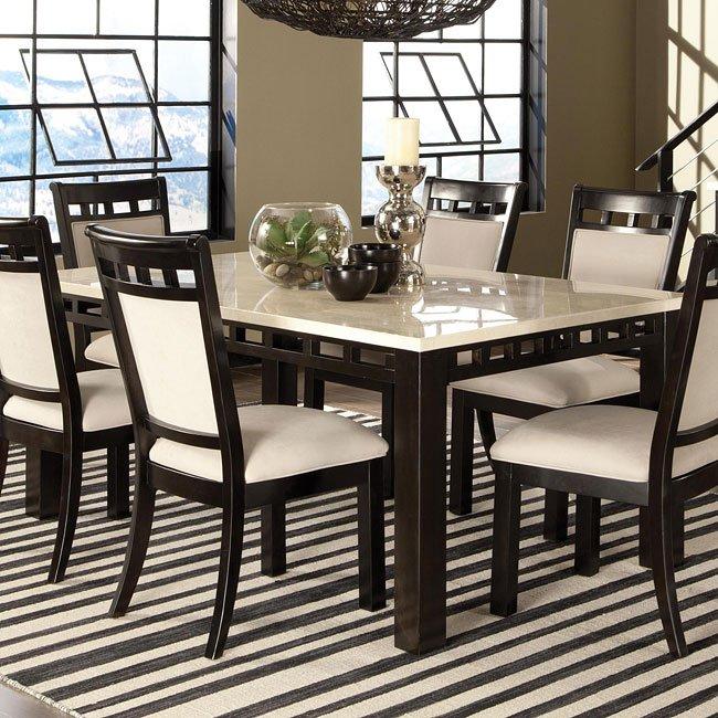 Gateway White Dining Table Standard Furniture