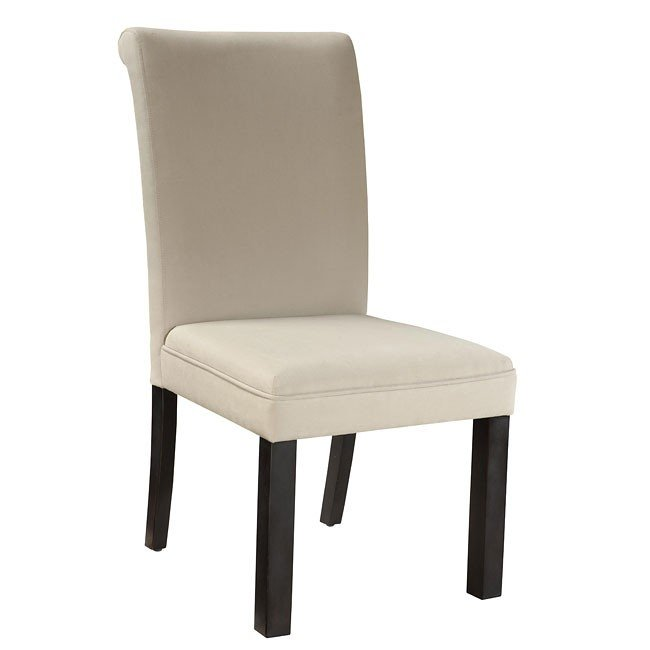 57b20d07e2f2 Gateway White Upholstered Side Chair (Set Of 2) Standard Furniture ...