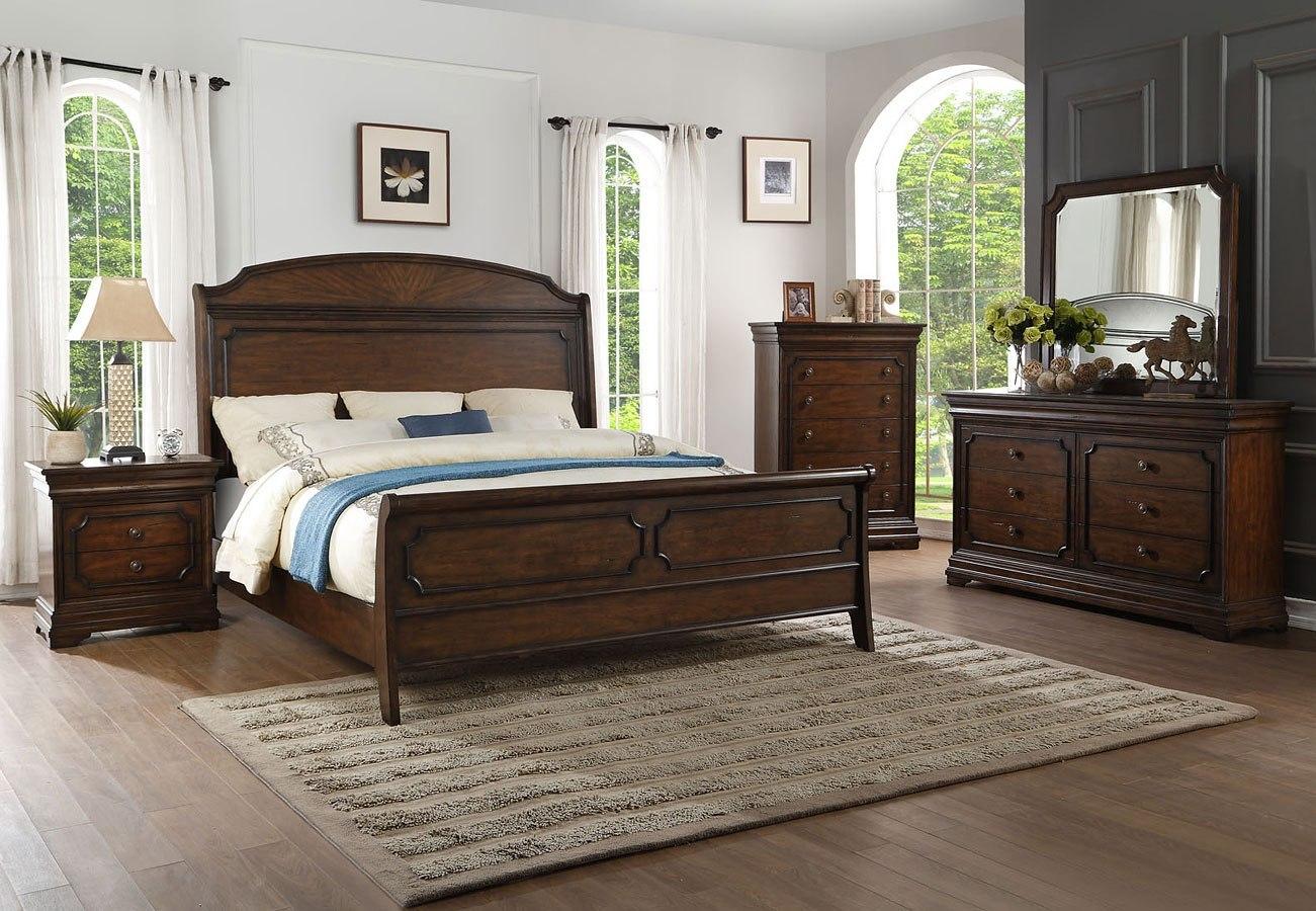 Marseille Sleigh Bedroom Set