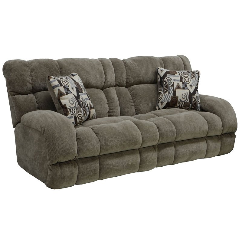 Siesta Reclining Sectional W Sleeper Porcini Catnapper