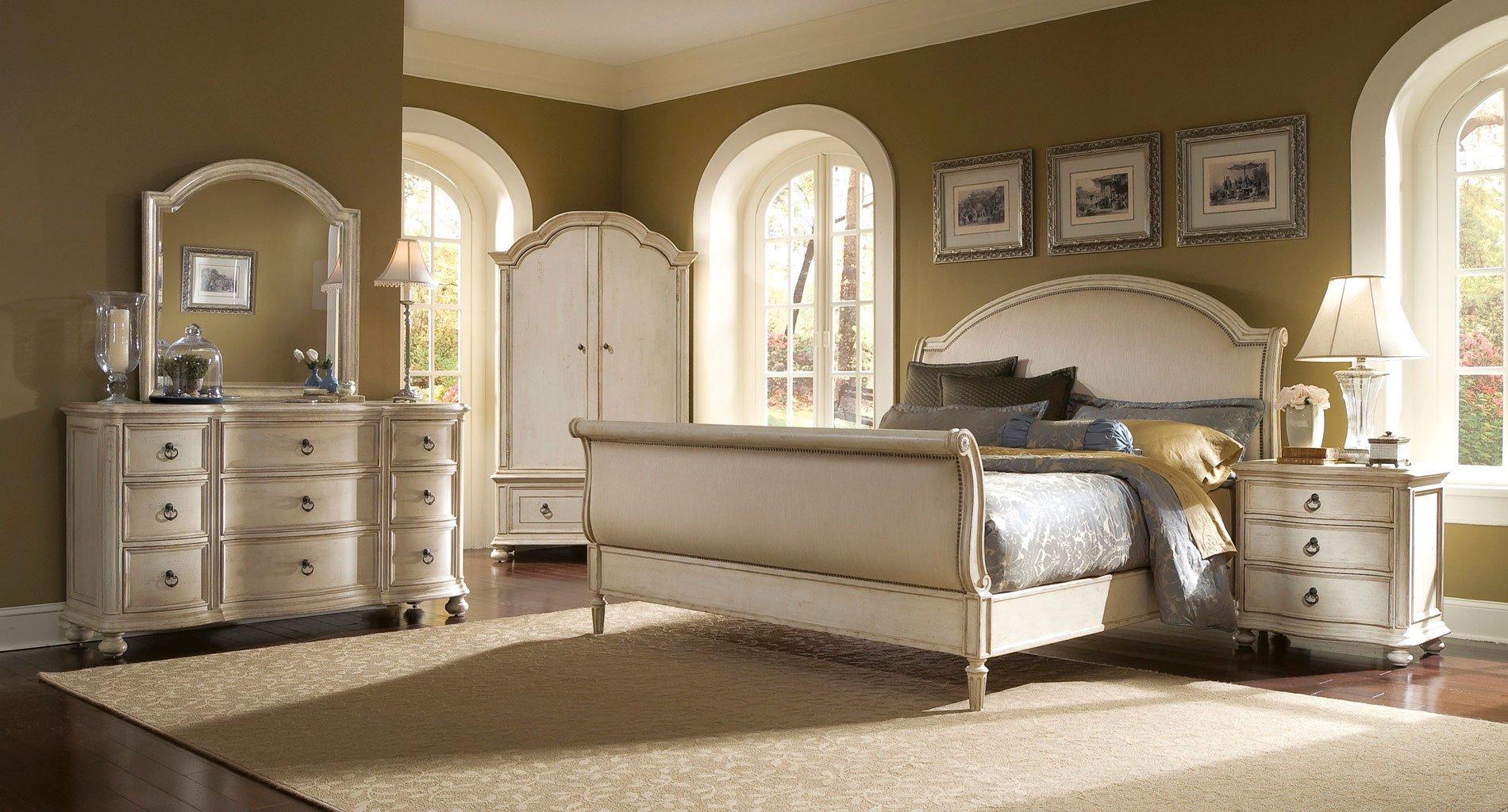 Provenance Sleigh Bedroom Set