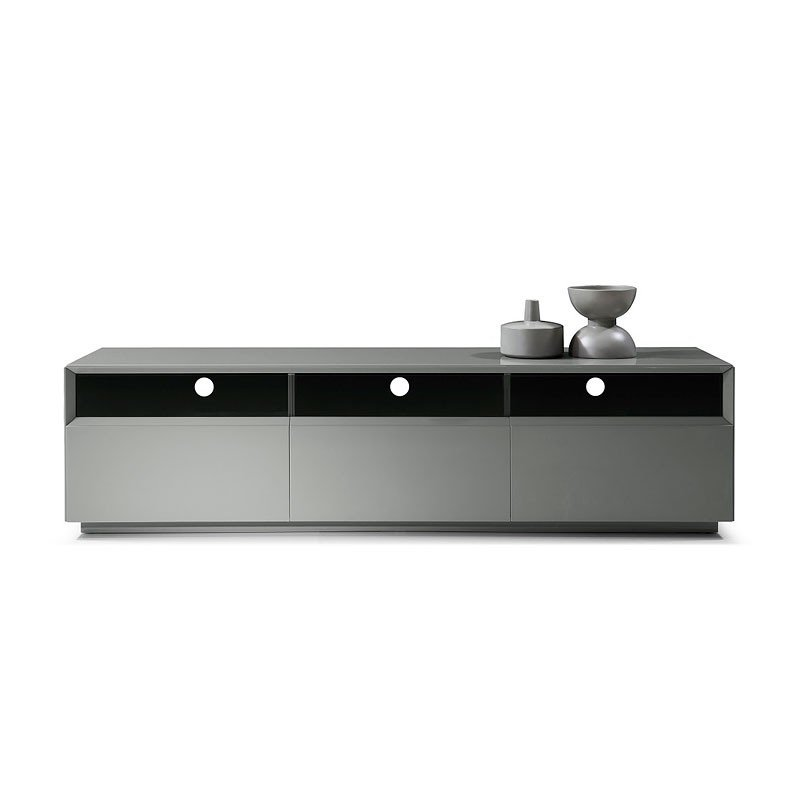 TV 023 Grey Gloss TV Stand