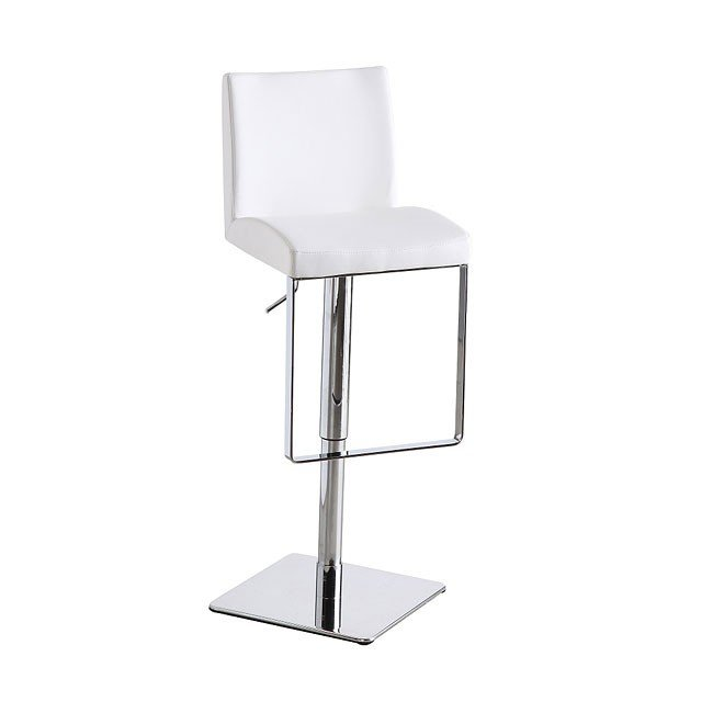 C171-3 Swivel Barstool (White)