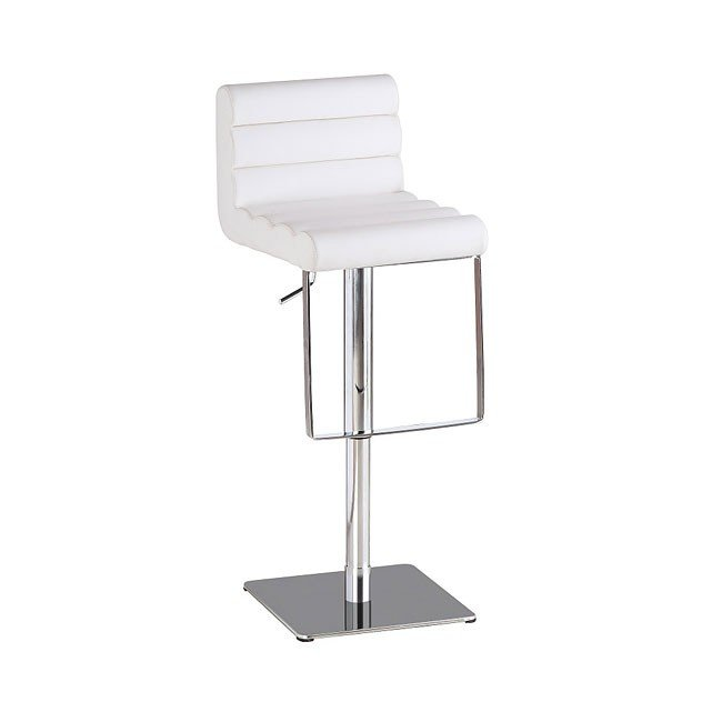 C192-3 Swivel Barstool (White)