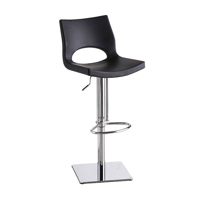 C203-3 Swivel Barstool (Black)