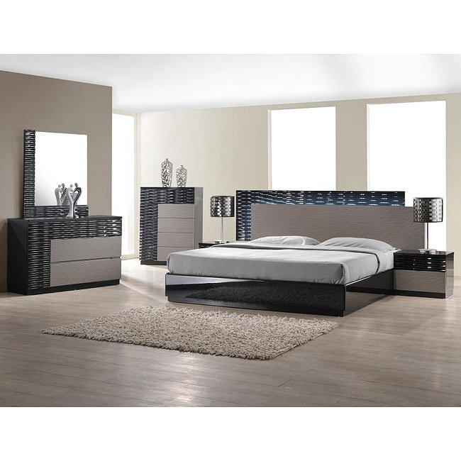 Roma Platform Bedroom Set