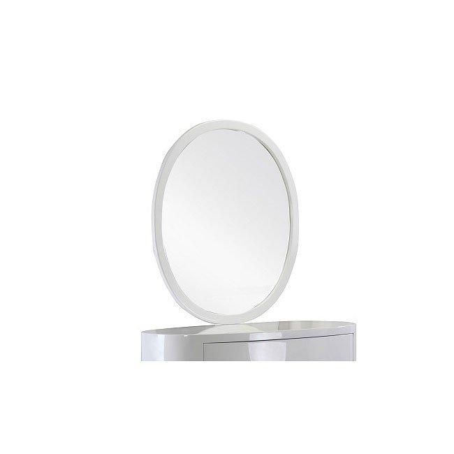 Zoe Mirror (White)