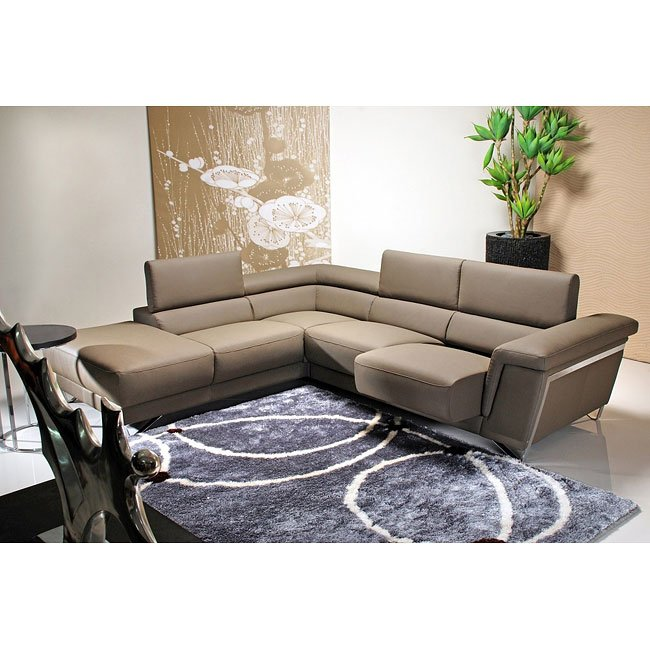 5069 Olive Left Facing Sectional