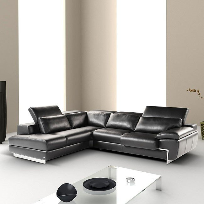 Oregon II Left Facing Sectional (Black)