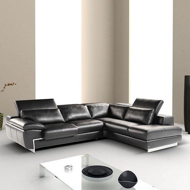 Oregon II Right Facing Sectional (Black)