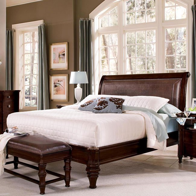 Sutton Place Sleigh Bed