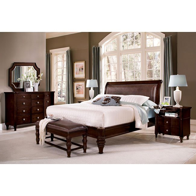Sutton Place Sleigh Bedroom Set