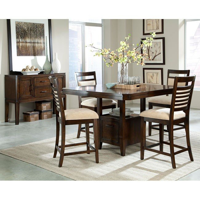 Avion Counter Height Dining Room Set Standard Furniture